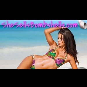 Tropical Leopard Bombshell 34A Small